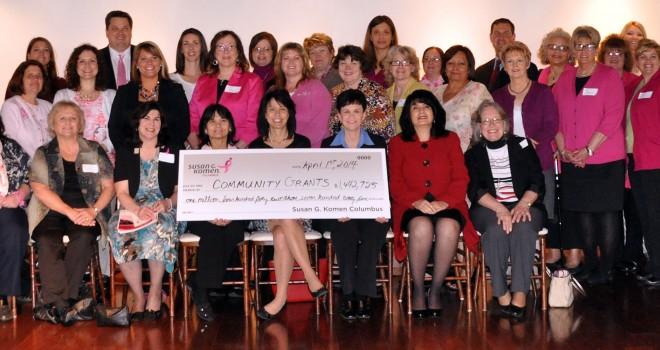 Komen Columbus Grants $1.4 Million to Local Programs