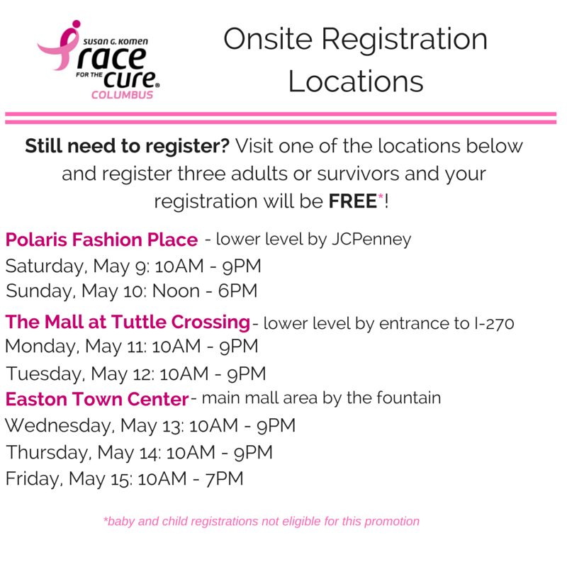 On-Site Registration Locations_Buy3Get1FREE