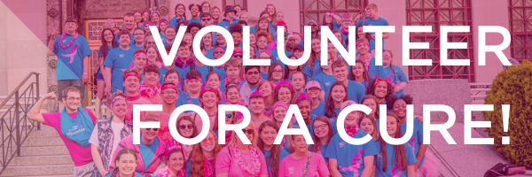Volunteer For A Cure!