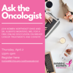 Ask the Oncologist 4.2.20 Social Graphic